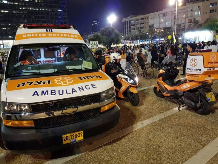 Hatzalah, a premier Israeli EMS organization, is known for its rapid appearance at disasters.