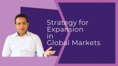strategy for expansion in Global Markets