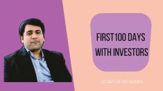 first 100 days with investors