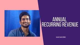 Annual or Monthly Recurring Revenue