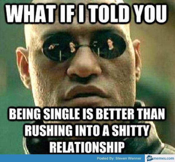 being single is best