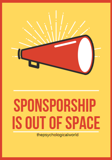 Sponsorship is out of space