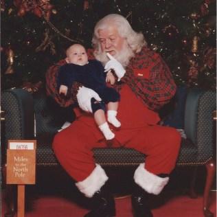 Jack's First Santa