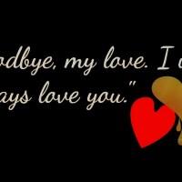 Goodbye My Love the unbroken story