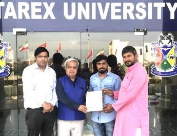 स्टारेक्स यूनिवर्सिटी के छात्र डॉ. नरेंद्र ने एक बार फिर बनाया विश्व रिकार्ड