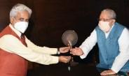 कुलाधिपति कलराज मिश्र से मिले कुलपति अमेरिका सिंह