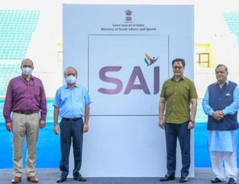 खेल मंत्री किरेन रिजिजू ने भारतीय खेल प्राधिकरण का नया लोगो जारी किया