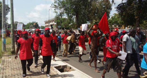 volta residents demonstrate