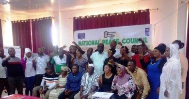 Participants at the National Peace Council Engagement with Civil Society Organizations