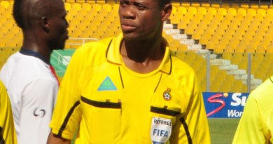 Referee William Agbovi