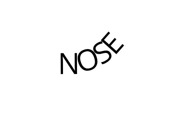 Dingbat-Turn Your Nose Up
