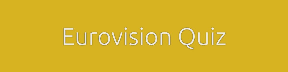 Eurovision Quiz Banner