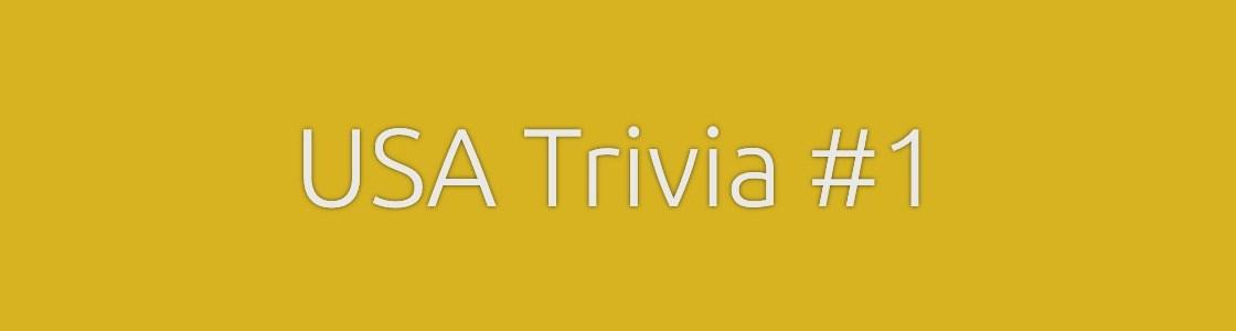 USA Trivia Quiz Banner