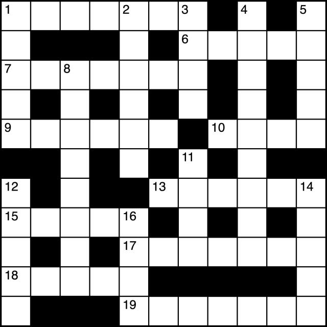 Quiz Word Crossword 1