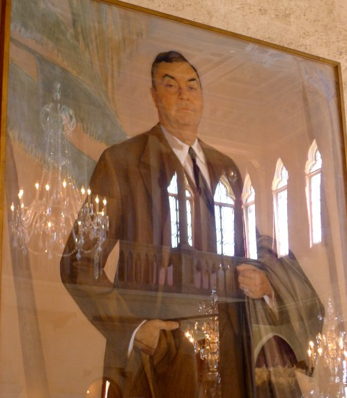 Portrait of John Ringling in The Court.