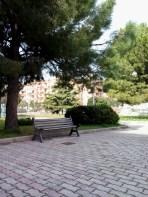 A little park near the school where I like to spend my breaks