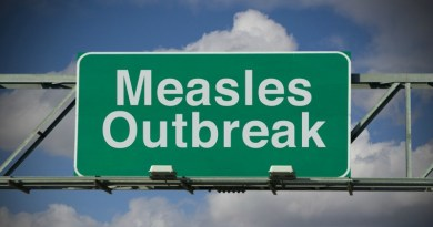 measles alert, vaccination