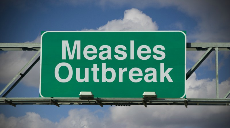 measles alert, vaccination