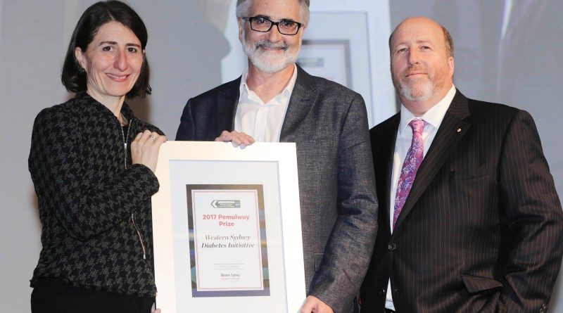 Western Sydney wins top award for diabetes initiative