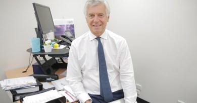 Board Chair Richard Alcock