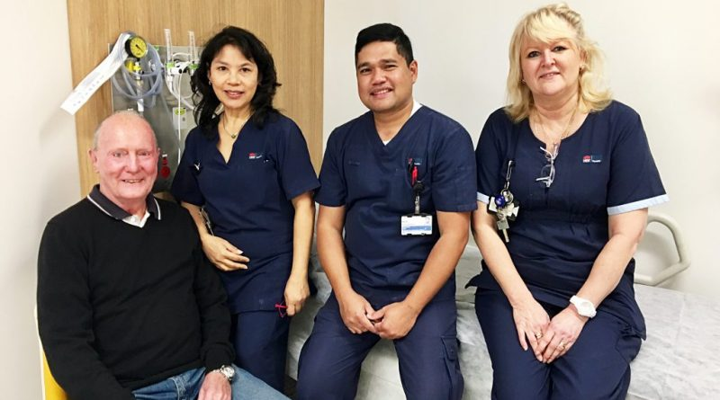 Patient and staff