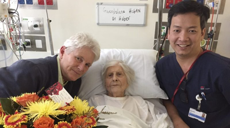 Patient celebrates 100th birthday