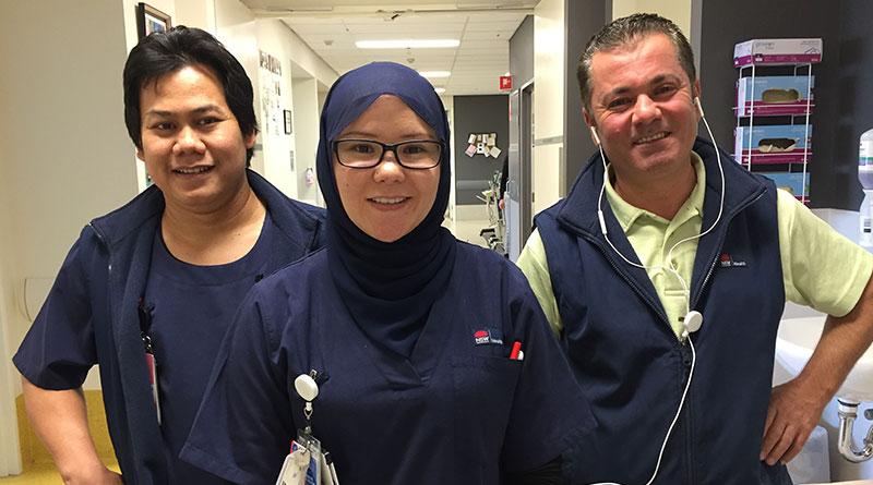 Auburn Hospital nurses