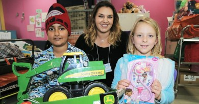 Ward Angels donation to kids at Mount Druitt Hosiptal
