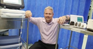 Stephen Brown cardiac technician