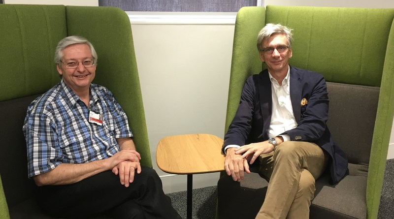 Mark Smith and Mark McLean