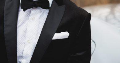 Black tie attire
