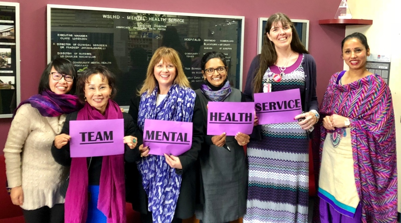 The Mental Health Service team proudly supports the launch of the People Matter survey.