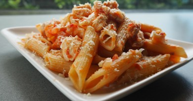 What's for dinner tonight? Try this healthy chicken pasta