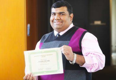 Blacktown Hospital registrar takes home the inaugural Santosh Rampersad's Memorial Award