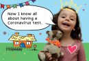 New booklet helps kids with their COVID-19 test
