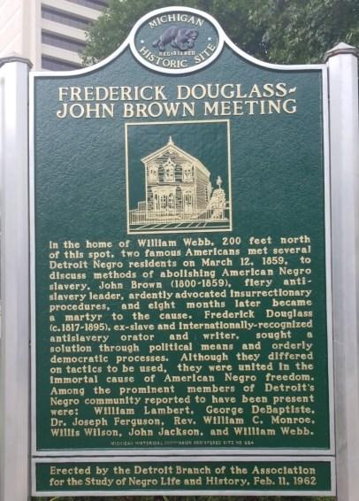 Detroit Historical Marker
