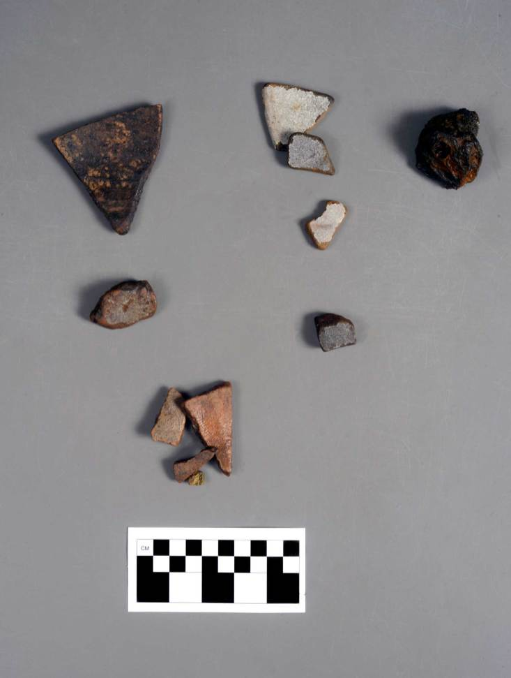 Artifacts recovered from the Emmanuel Point III shipwreck, the discovery of which UWF announced Friday. (University of West Florida/Special to The Pulse)