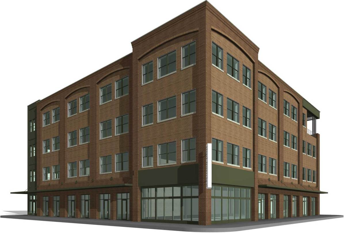 Northwest approach to the new Studer office building. (City of Pensacola/Special to The Pulse)