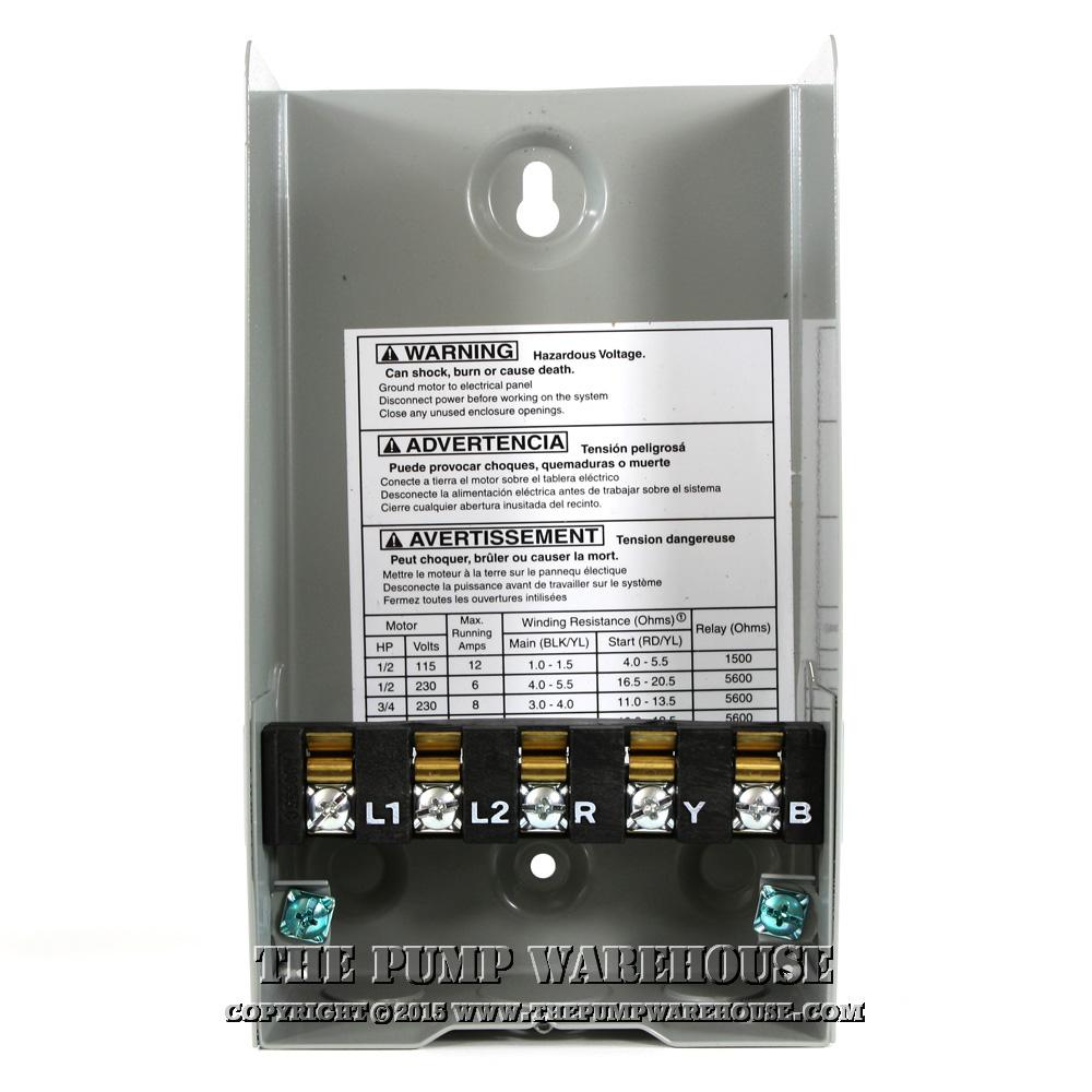 hight resolution of centripro qd control box 3 4 hp 230v rh thepumpwarehouse com centripro pump control box cb10412 wiring diagram centripro cb50412mc pump control box