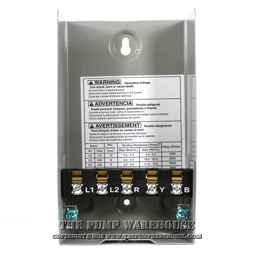 small resolution of centripro qd control box 3 4 hp 230v rh thepumpwarehouse com centripro pump control box cb10412 wiring diagram centripro cb50412mc pump control box