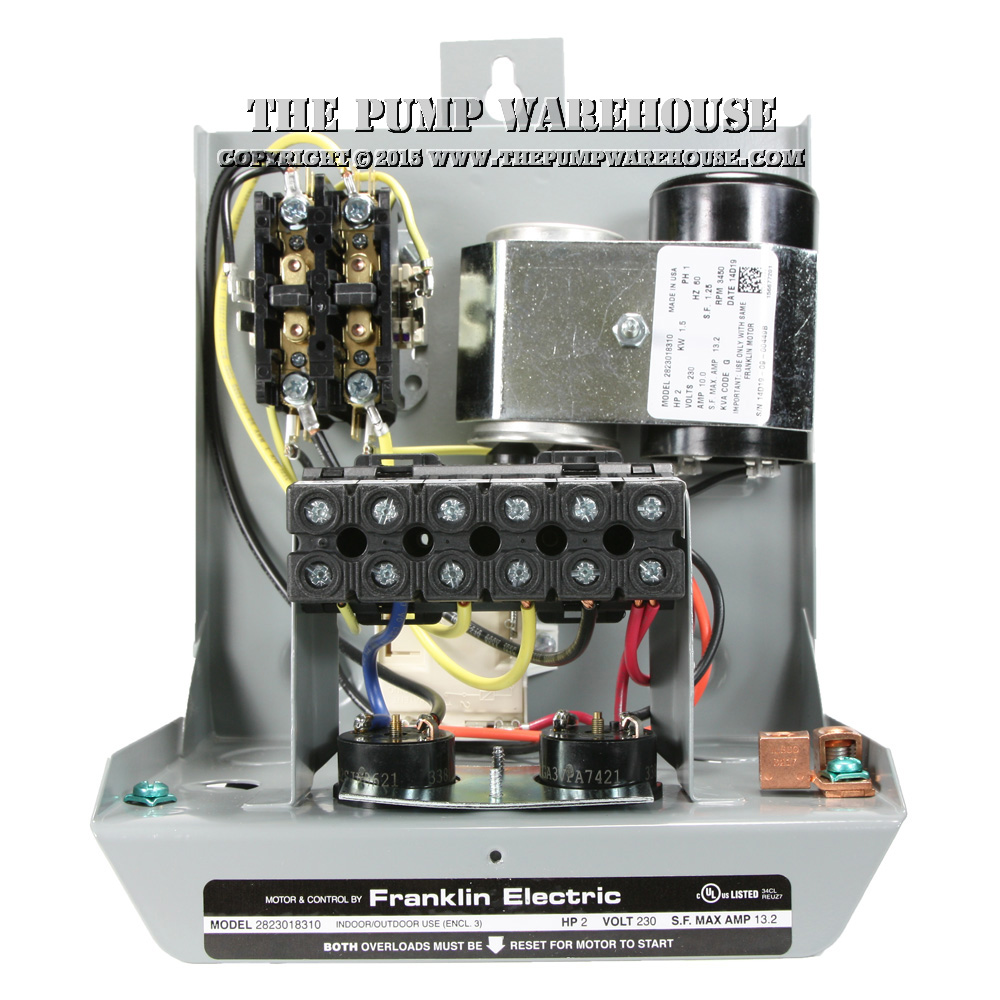 Franklin Electric Standard Deluxe Xl Control Box Features Image