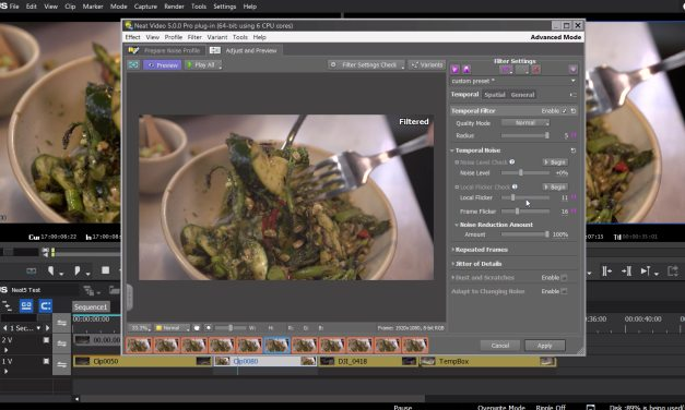 Neat Video 5 Noise Reduction Plugin Testing – Flicker Reduction