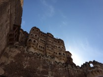 A tiny lovely piece of Mehrangarh Fort