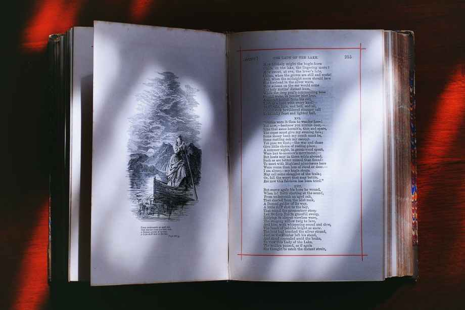 photography of opened book