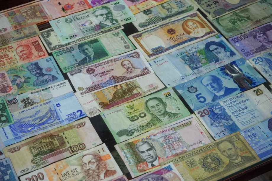 assorted currency paper bills