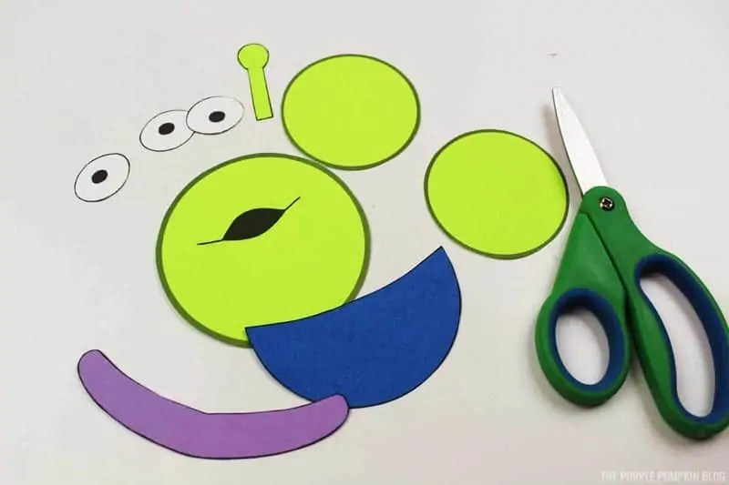 toy story alien christmas ornament craft