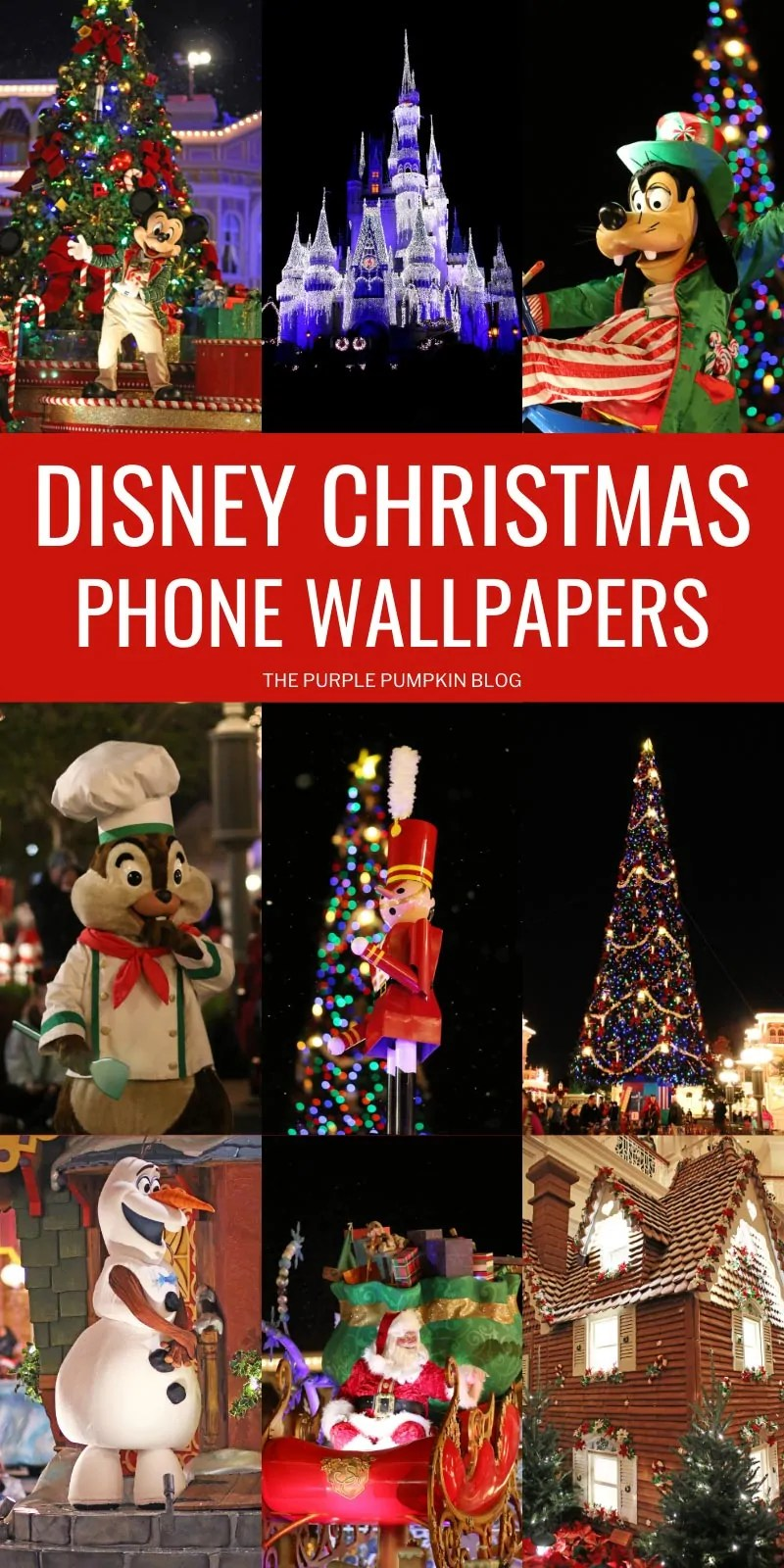 Disney Christmas Wallpapers Phone Wallpapers