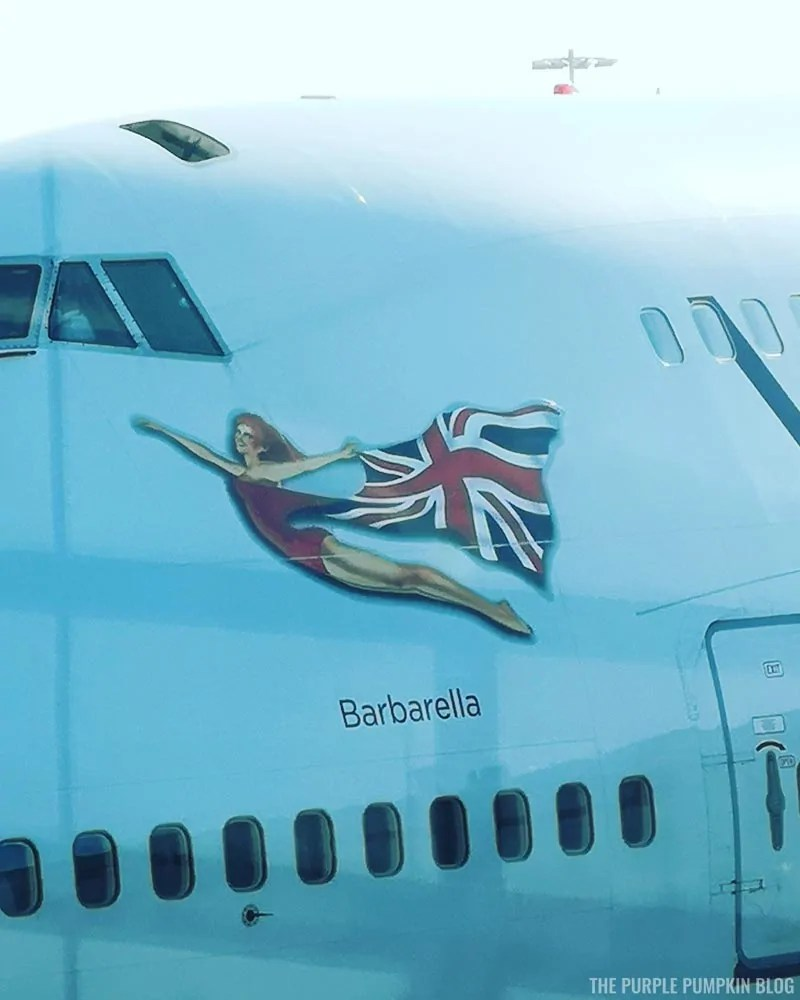 Barbarella - Virgin Atlantic