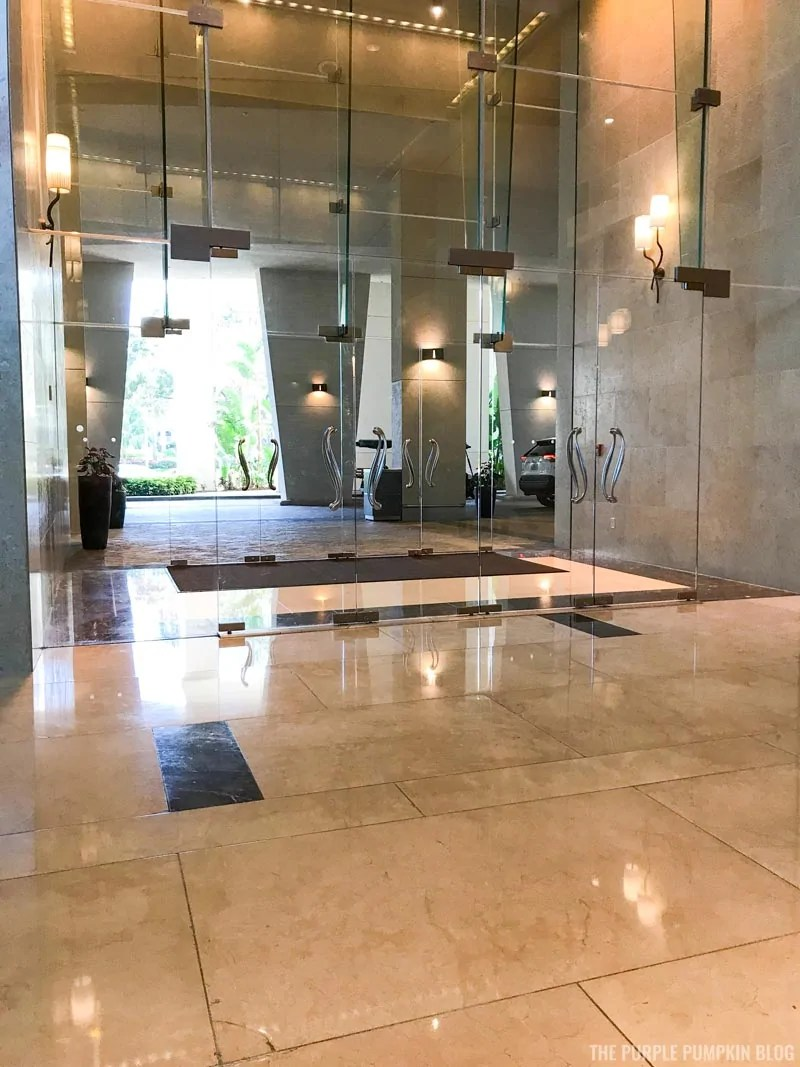 Entrance Lobby at Hyatt Regency Orlando International Drive
