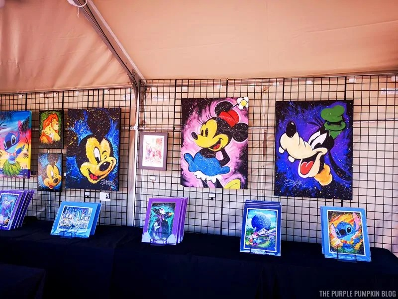 Various Disney Artwork